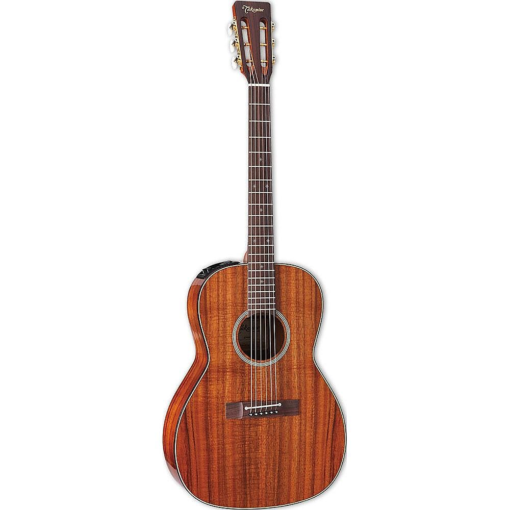 Takamine Ef407 Legacy Series Acoustic Guitar In Gloss Natural Finish Guitars & Basses Acoustic Electric Guitars