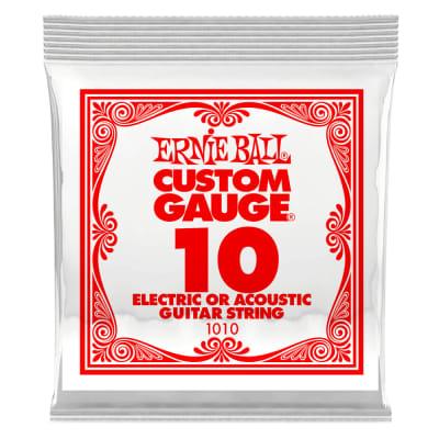 Ernie Ball .010 Single Plain Steel String