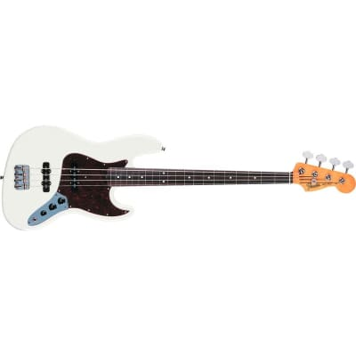 Fender '60s Jazz Bass, Pau Ferro Fingerboard, Olympic White for sale