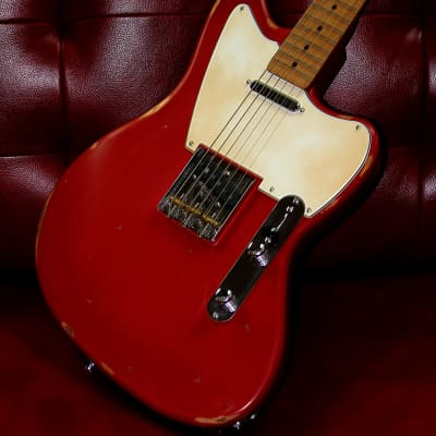 Palermo Jazz Bastard Electric Guitar 2019 Fiesta Red Relic W/ Case NEW for sale