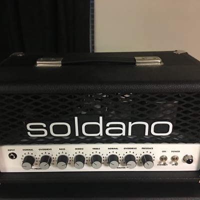 Soldano Hot Rod 25 2-Channel 25-Watt Guitar Amp Head for sale