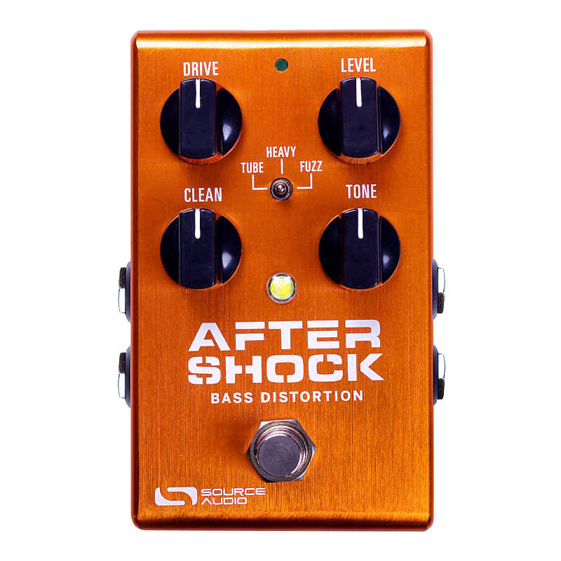 Source Audio SA246 One Series AfterShock Bass Distortion Effects Pedal
