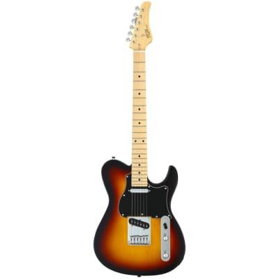 FGN Guitars Boundary Iliad 3-Tone Sunburst Electric Guitar for sale