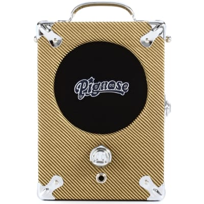 Pignose 7-100TW Tweed Special Edition Portable Guitar Amplifier w/ Power Supply for sale