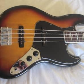 Fender Fender 70's Series Jazz Bass 3-Color Sunburst for sale