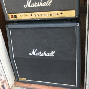 Marshall JCM 900 Model 2500 50-Watt Hi Gain Master Volume MkIII 4x12 Half Stack