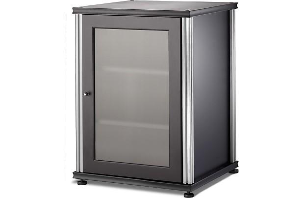 Salamander 303 AV Equipment Cabinet W/optional Fan Panel  Black/annodized