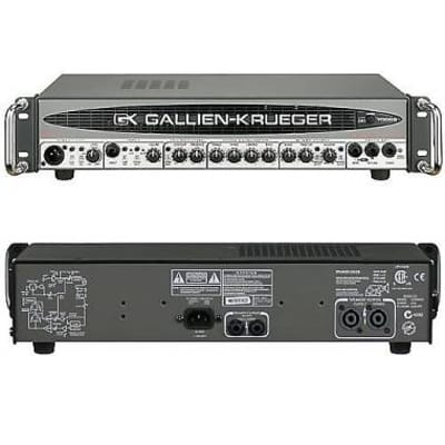 gallien krueger 700rb-ii bass head testata per basso 480w for sale