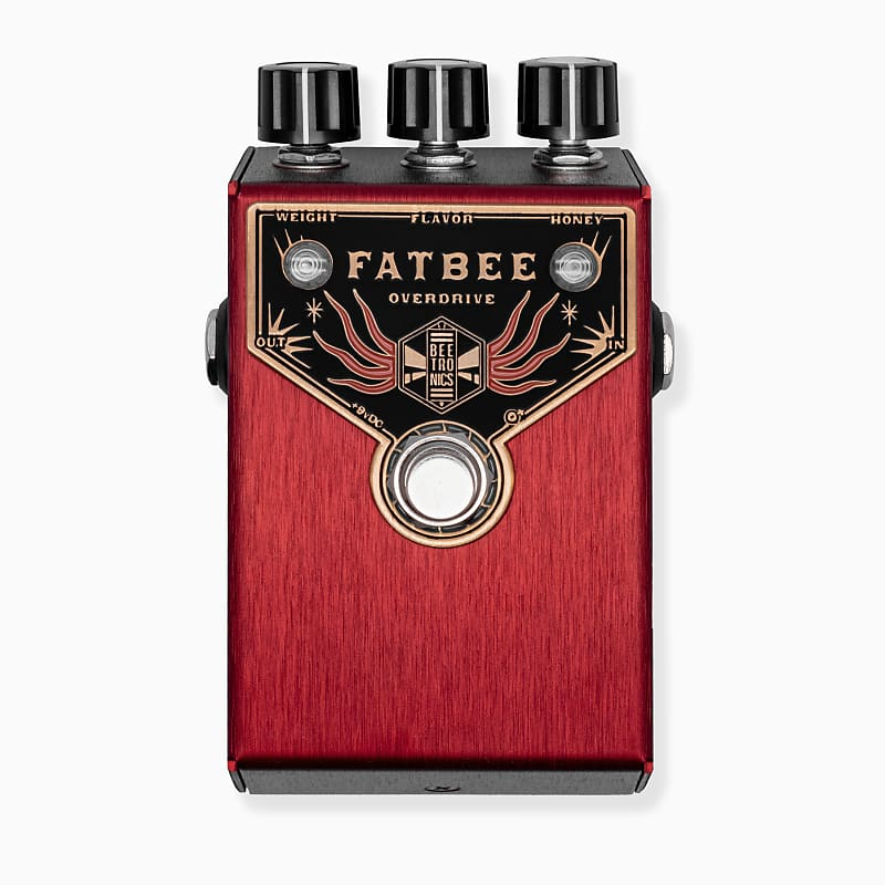 Beetronics Fatbee Overdrive Effects Pedal