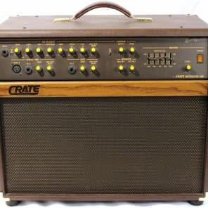 """Crate CA125 125-Watt 2x8"""" Acoustic Guitar Combo with Tweeter"""