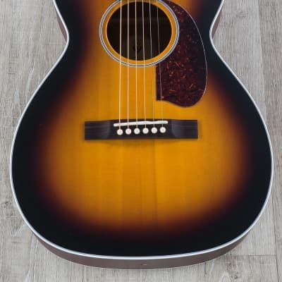 Guild M-40 Troubadour Concert Acoustic Guitar, Mahogany, Antique Sunburst