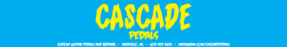 Cascade Pedals