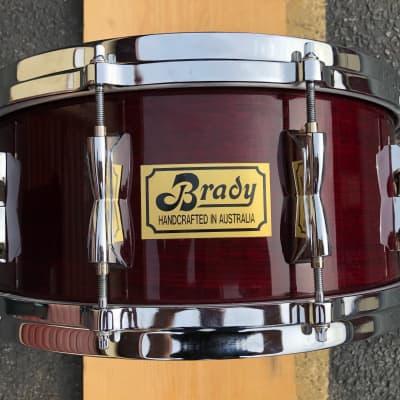 "Brady 14""x6.5"" Snare drum Jarrah Ply 90's"
