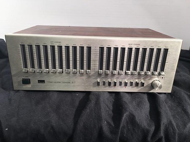 sansui se 7 stereo graphic equalizer railroad bazaar music reverb sansui se 7 stereo graphic equalizer
