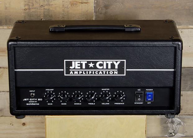 jet city jca20h 20 watt tube guitar amp head reverb. Black Bedroom Furniture Sets. Home Design Ideas