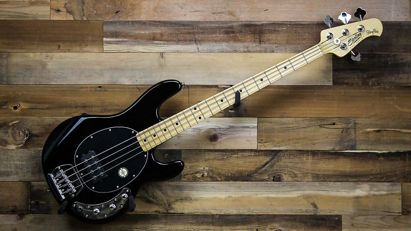 sterling by music man s u b ray4 bk stingray electric bass reverb. Black Bedroom Furniture Sets. Home Design Ideas