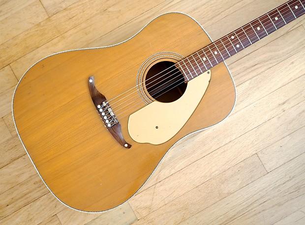 1965 fender king vintage acoustic guitar dreadnought kingman reverb. Black Bedroom Furniture Sets. Home Design Ideas