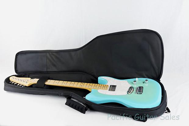 godin session custom 59 limited coral blue hg maple neck reverb. Black Bedroom Furniture Sets. Home Design Ideas