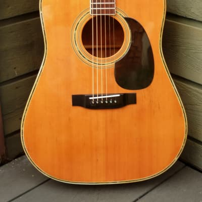 Yamaki YW30M Hand Crafted Japan Vintage '70 Natural+Hard Case FREE for sale