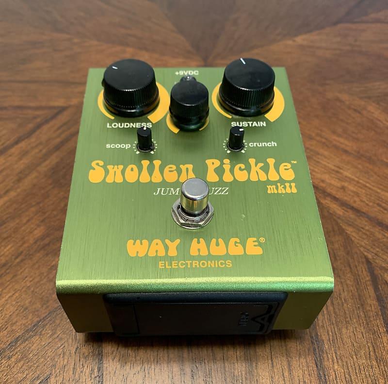 way huge swollen pickle mkii jumbo fuzz pedals reverb. Black Bedroom Furniture Sets. Home Design Ideas