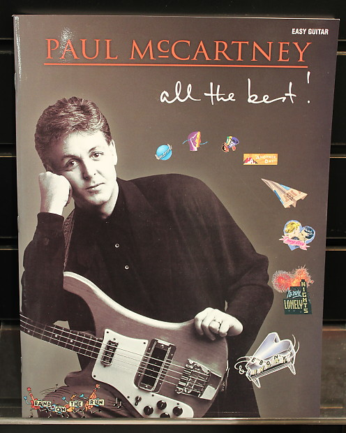Paul McCartney All The Best Easy Guitar With Notes Tab Songbook