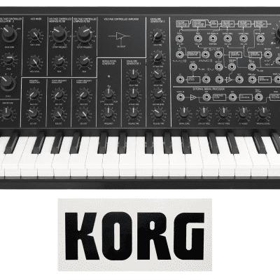 Korg MS-20 Mini - Monophonic Analog Synthesizer [Three Wave Music]