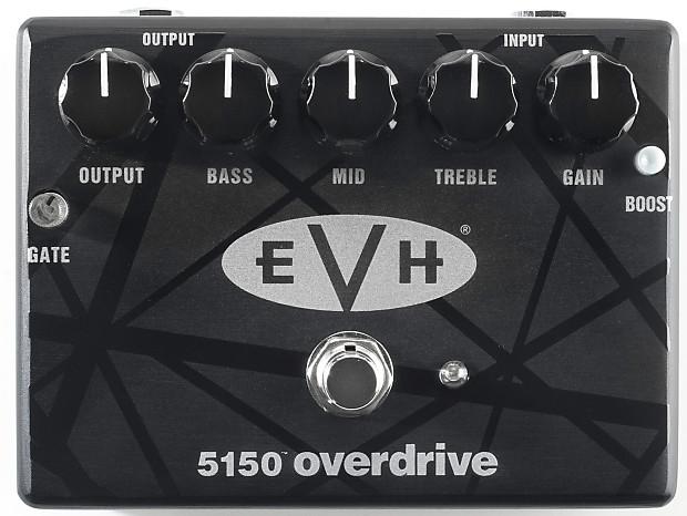 mxr evh5150 eddie van halen overdrive guitar effect pedal reverb. Black Bedroom Furniture Sets. Home Design Ideas