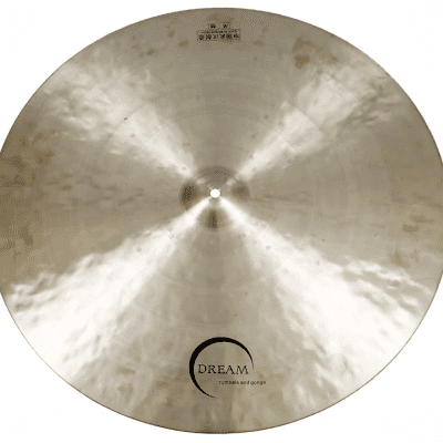 """Dream Cymbals 24"""" Bliss Series Small Bell Flat Ride Cymbal"""
