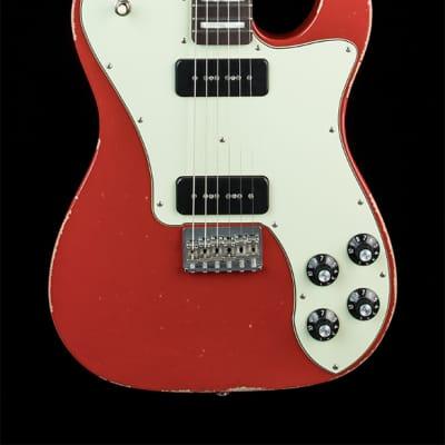 Fender Custom Shop Greg Fessler Masterbuilt Chris Shiflett Telecaster Closet Classic - Cardinal Red for sale
