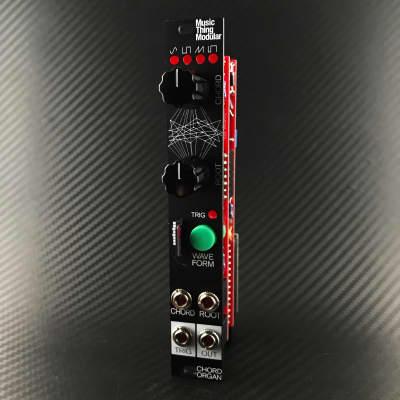 Music Thing Modular Chord Organ Black Aluminium Panel 32GB SD Card 4hp Eurorack Module
