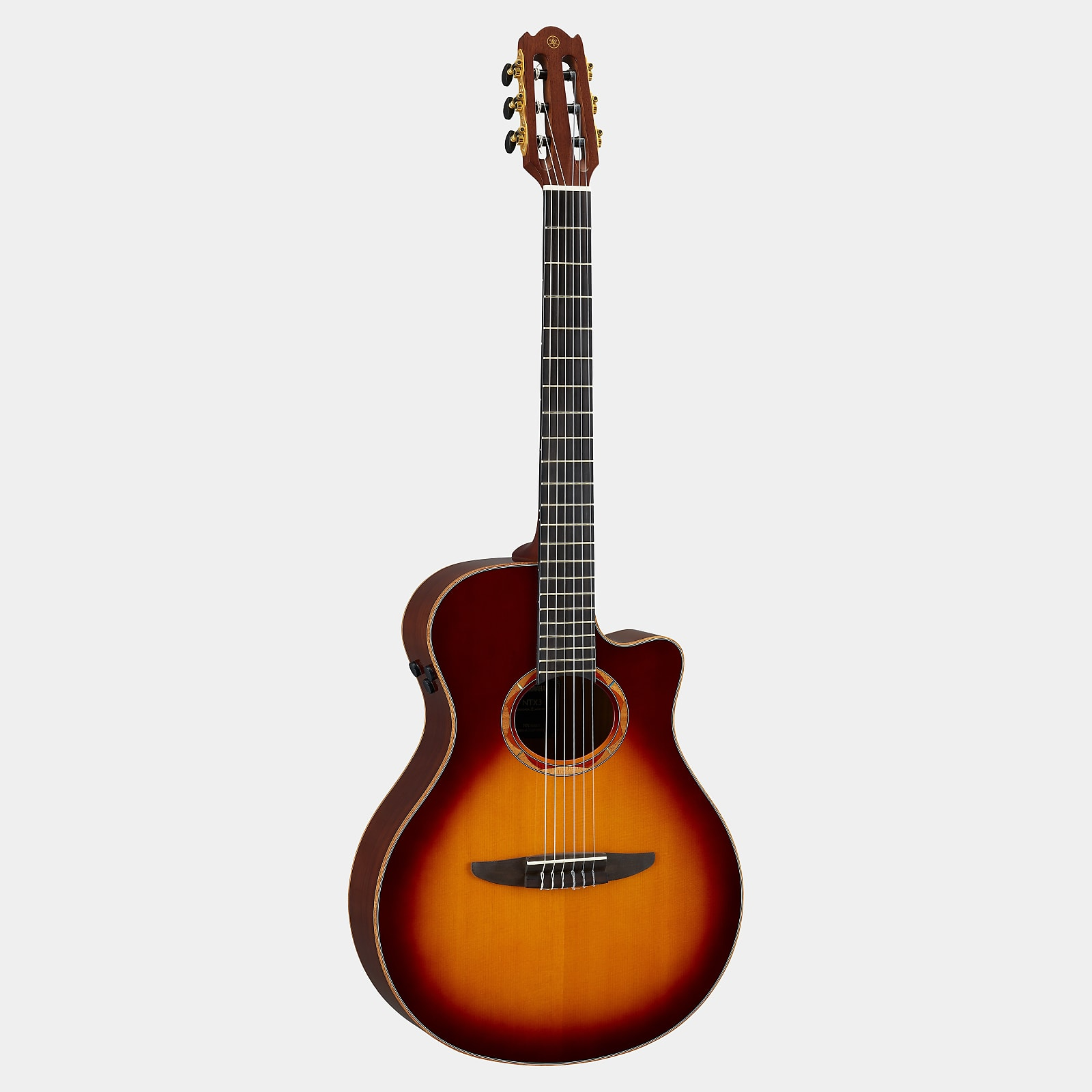 Guitare Folk Electro-Acoustique Yamaha NTX3 Brown Sunburst