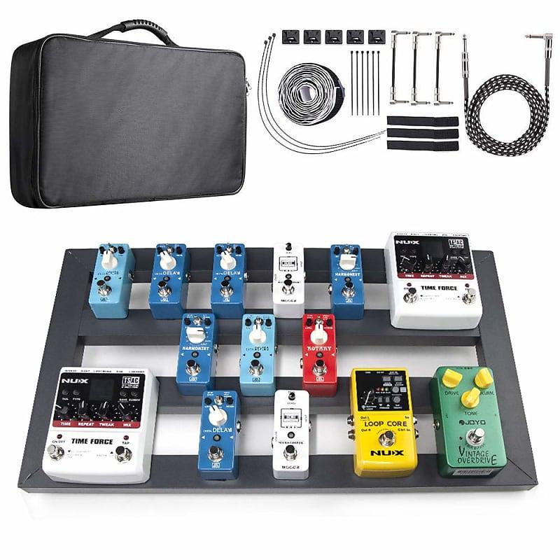 vangoa guitar effect pedal board aluminum alloy with bag 22 2 reverb. Black Bedroom Furniture Sets. Home Design Ideas