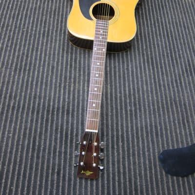 Marlin KM-6000 Vintage Guitar, 1970s Japan, D-35 Clone, Ex Craftsmanship, Design, Sound Quality + Pe for sale