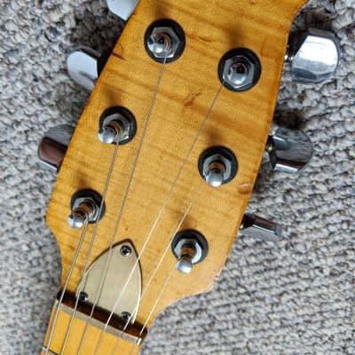 Manson Merlin Electric Guitar 1980 Rare Hugh Manson Logo Kent Armstrong Pickups Brass Bridge & Case for sale
