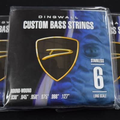 Dingwall Steel Roundwound (6-String), 3-Pack Deal=FREE Shipping!