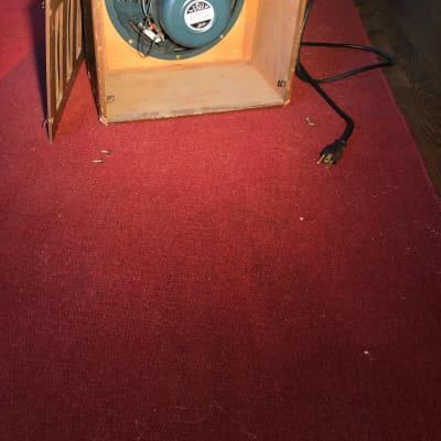 Electromuse 10 watt 1946 brown 1940s tube amp for sale