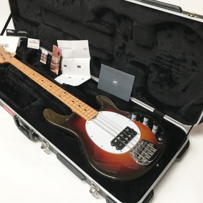Music Man  StingRay Old Smoothie Bass Active 2017 Smoothie Burst for sale