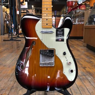 Fender American Original 60s Telecaster Thinline 3-Color Sunburst w/Hard Case