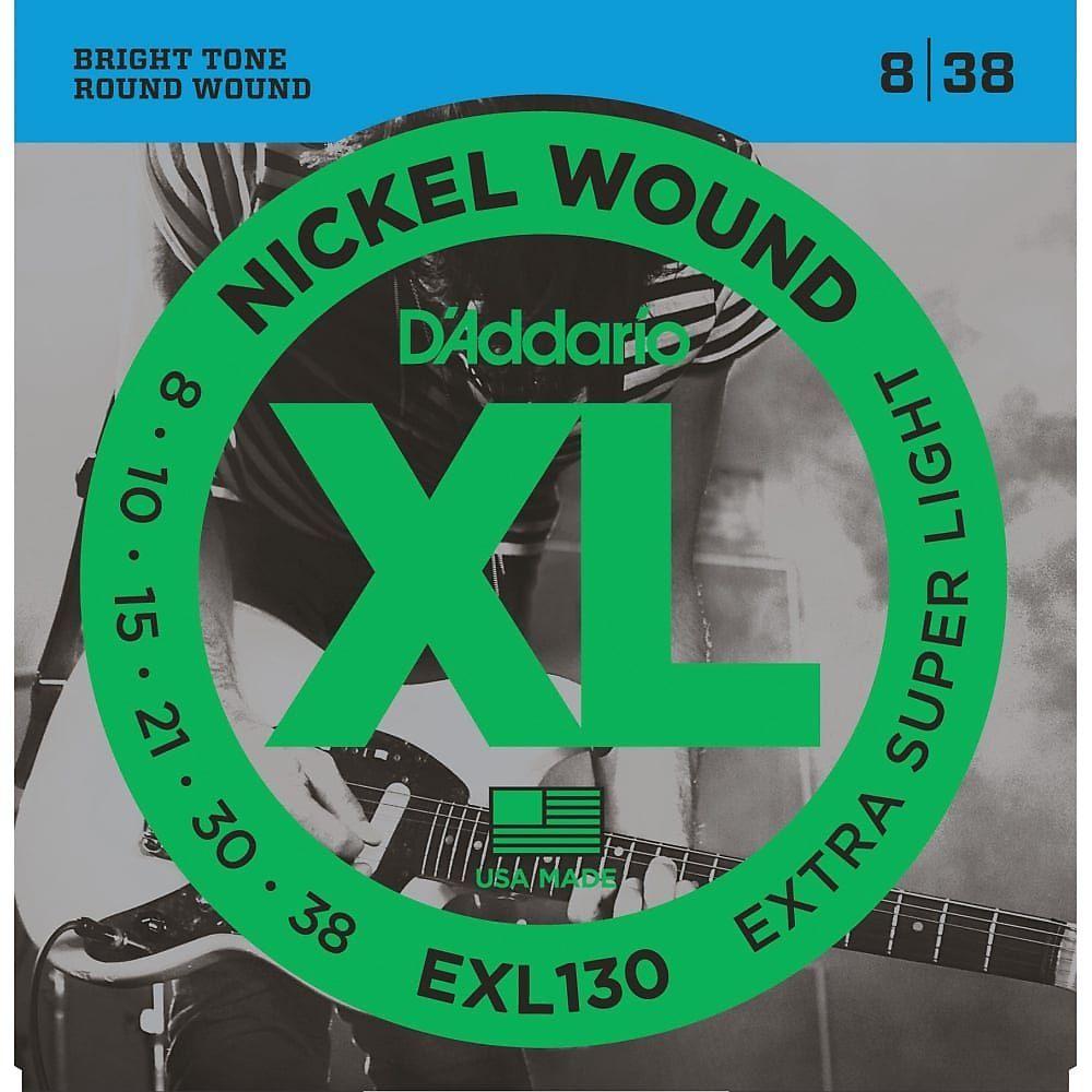 D/'Addario Guitar Strings  EXL130  Light Top Heavy Bottom