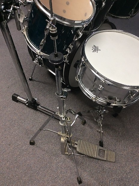 used tama rockstar custom 7 piece rack mount drum set w reverb. Black Bedroom Furniture Sets. Home Design Ideas