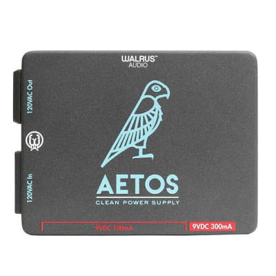 Walrus Audio Aetos 120v 8 Outlet Pedal Clean Power Supply for sale