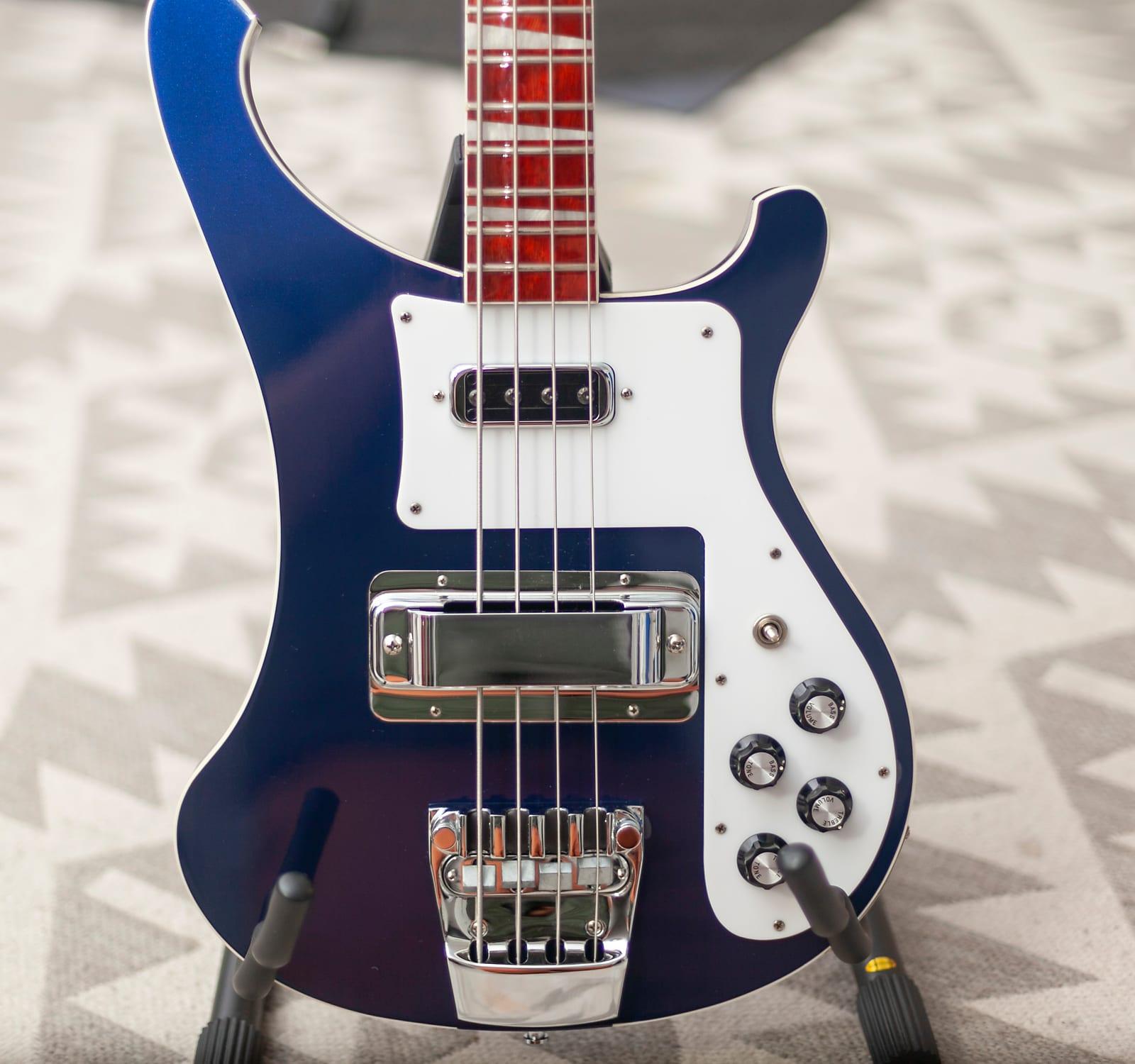 2017 Midnight Blue Rickenbacker 4003 Bass