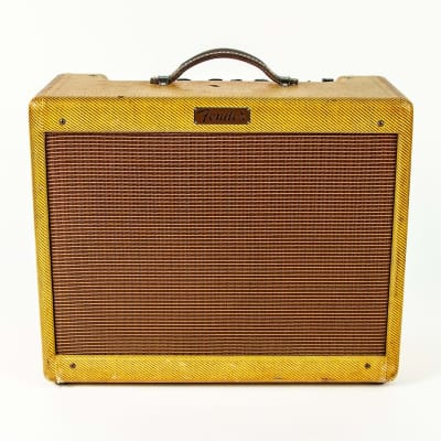 "Fender Tremolux 5E9 Narrow Panel 15-Watt 1x12"" Guitar Combo 1955"