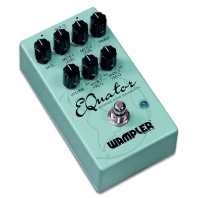 Wampler EQuator Equalizer Compact Guitar Effects Pedal  Full Warranty - Immaculate Condition!