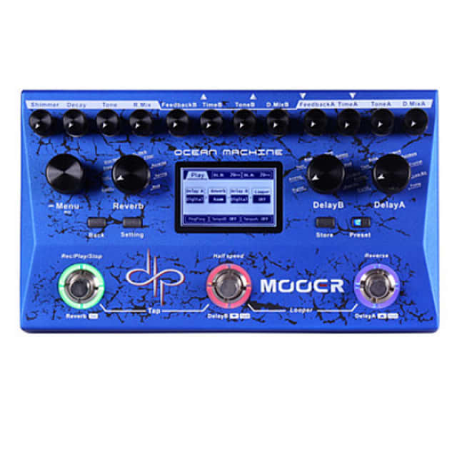 Mooer Ocean Machine Devin Townsend Signature Pedal NEW! Just Released image