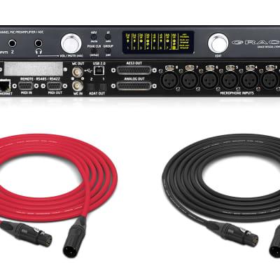 Grace Design M108 | 8 Channel Remote Control Mic Pre w/ AES, ADAT + USB A/D | Pro Audio LA