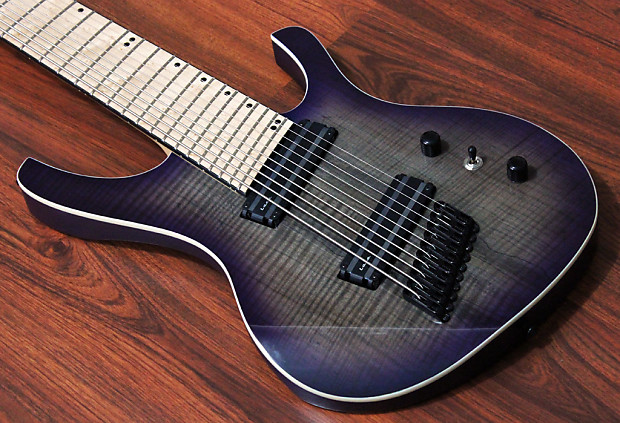 halo custom guitars octavia 10 string multi scale fanned fret reverb. Black Bedroom Furniture Sets. Home Design Ideas