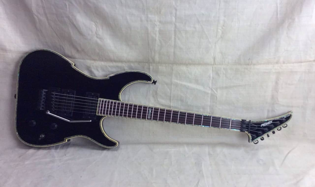 used peavey exp v type limited edition electric guitar black reverb. Black Bedroom Furniture Sets. Home Design Ideas