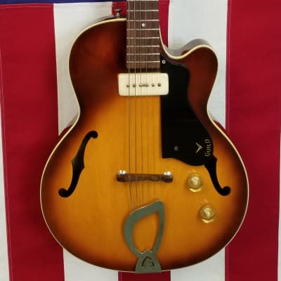 1957 Guild M-65 - Super Cool Little Guitar - Sunburst for sale