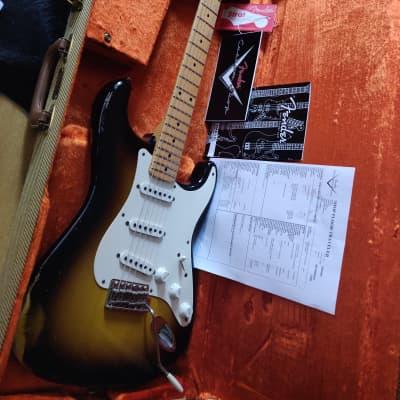 Fender Custom Shop '56 Stratocaster Relic 2-tone Sunburst 2006 for sale